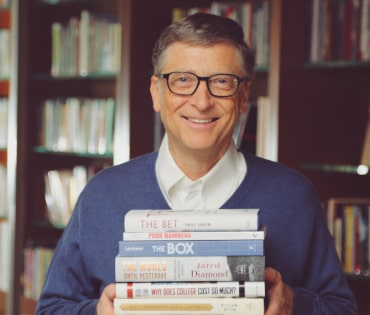 Books Bill Gates recommends young people to read